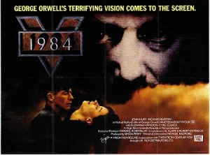 Movie poster for the Michael Radford movie, released in 1984