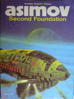 Chris Foss, Second Foundation cover