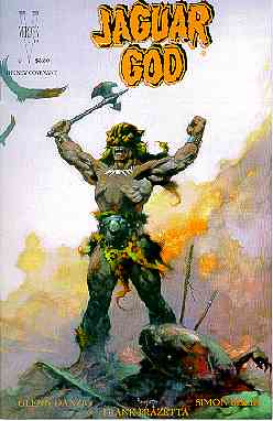 Jaguar God, by Frank Franzetta