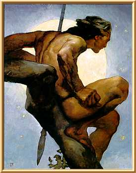Jeff Jones, Tarzan Rescues the Moon