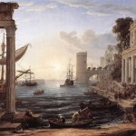 Claude Lorrain, Seaport with the Embarkation of the Queen of Sheba