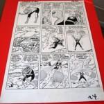 Spider-Man artwork by Steve Ditko