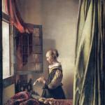 Vermeer, Girl Reading a Letter