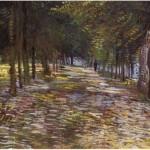 Avenue at D'Argenson Park at Asnieres