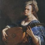 Artemisia Gentileschi: Self Portrait as a Lute Player