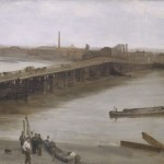 Brown and Silver, Old Battersea Bridge by James McNeill Whistler