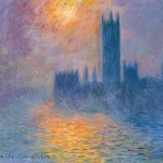 Houses of Parliament, Sunset, by Claude Monet