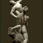 The Rabe of the Sabines by Giambologna