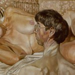 Self Portrait with Patrick Preece by Stanley Spencer