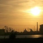Sunset, cinema format