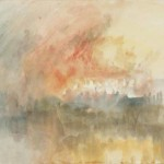 The Burning of the Houses of Parliament by J.M.W. Turner
