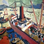 The Pool of London by Andre Derain