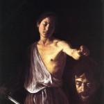 Caravaggio as both David and Goliath