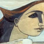 Self Portrait: Figure in the Wind