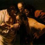 The Incredulity of St Thomas - yuk!